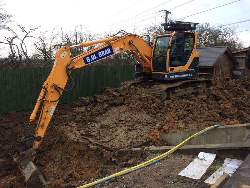 Man And Digger Hire | Mini Digger and Driver Hire | North London