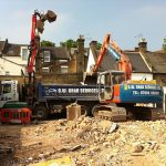 Residential clearance grab hire