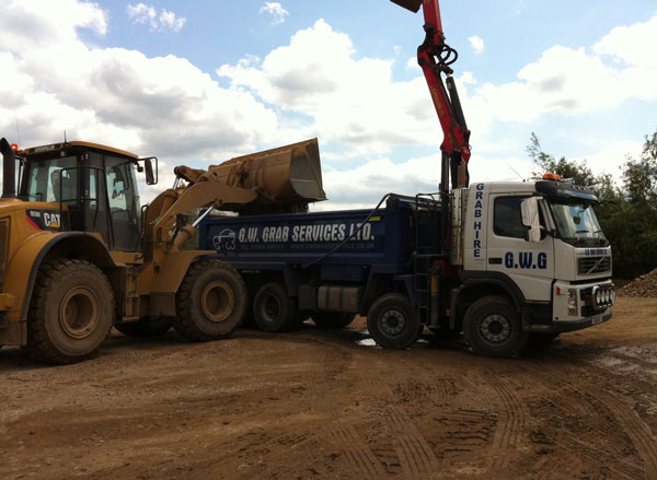Grab Lorry Rubbish Removal